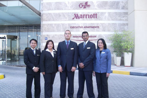 Jobs at Marriott Executive Apartments Manama Bahrain